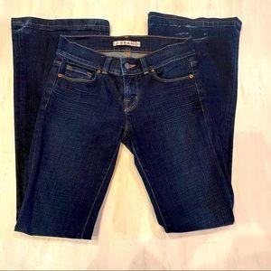 J BRAND Women's Blue Dark Wash Flare Leg Jeans 27